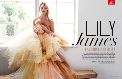 Ko Productions Vanity Fair Italia Lily James 3